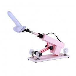 Pink Sex Machine Adjustable And Portable NEW Masturbation