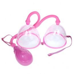 Electric Dual Female Breast Vacuum Pump Breast Enlarger Enhancer Suction Cup Enlargement